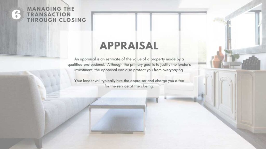 The Home-buying appraisal process