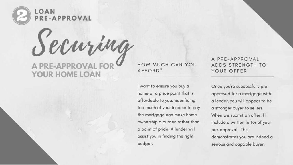 Securing a Pre-approval for your home loan
